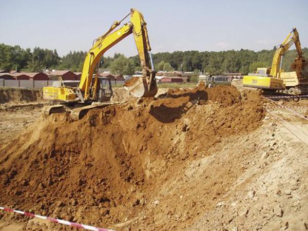 Zemné práce v stavebníctve sú